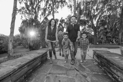 Ross Family at Philippe Park, Tampa Florida