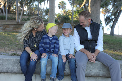 The Hull Family at Philippe Park, Tampa Florida