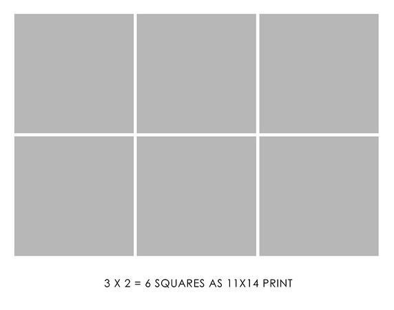 3 x 2 = 6 Box print as landscape or vertical print + $180