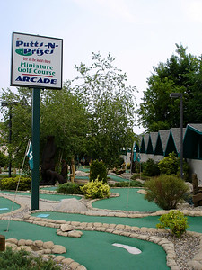 Putt & Prizes claims to be on the site of the very first mini-golf course