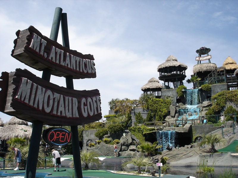 Mount Atlanticus Minotaur Golf (across the street from the Pavilion).