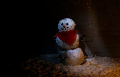 "Depiction of Fiction: ""Snow Day"" (Snowmen at Night)"
