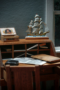 "Depiction of Fiction: ""George Darling's Desk"" (Peter Pan)"