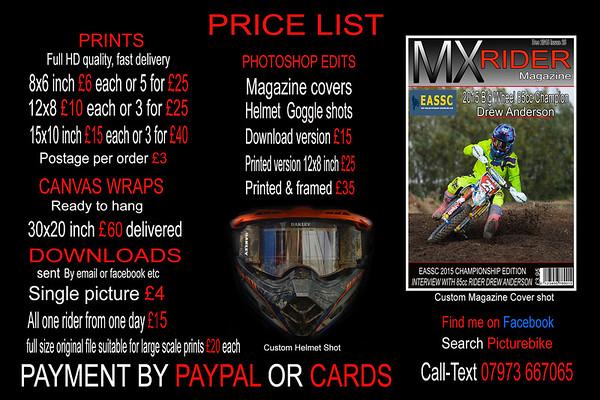 Mildenhall 23-7-17 140cc & MASTERS