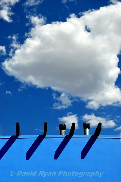 Blue Wall, Blue Sky