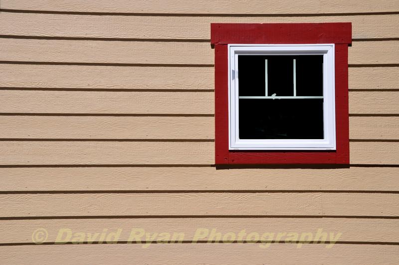 Garage window, White Fish, Montana