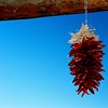 Suspended Chilis in Taos.