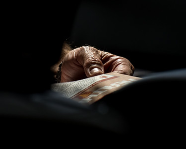 Man's Hand, DFW Airport, Dallas, Texas