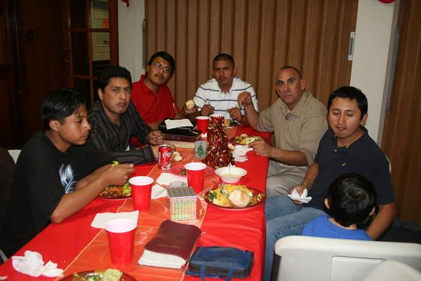Banquete Navideño de Caballeros 2009