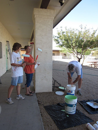 Chilton Hall Painting Day
