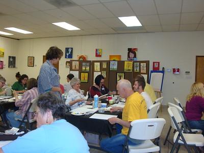 Faith Through the Arts Painting Party