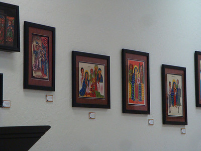 Ethiopian Coptic Christian Exhibit.  Thank you for sharing Glenna and Carrol.