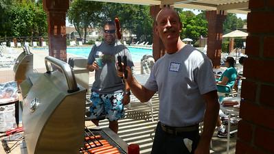2014-07 July Men's BBQ
