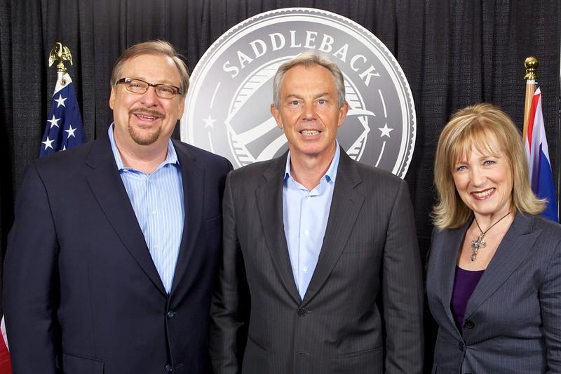 Saddleback Civil Forum with Tony Blair