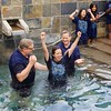 Rick Warren baptizes after service on 12-30-12.