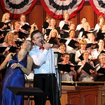 5/20 - Tonight was Mt. Bethel's annual Patriotic Concert.  As usual, the music was rousing and inspiring, delivered by a full choir, orchestra, and special guests. A highlight of the show wa ...
