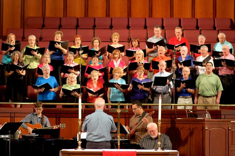 Chancel Choir, June 23, 2013