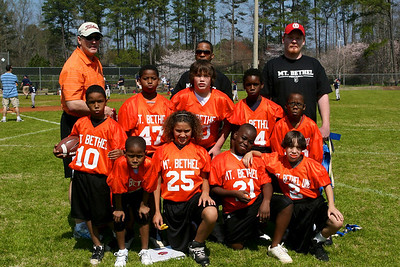 St. Philip Flag Football Team
