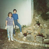 Darlene & Susan Wood landscaping the Telheiras church