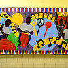 A mural at the PBMR Center.