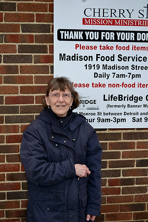 Sister Amy Junk at Cherry Street Ministries, Toledo
