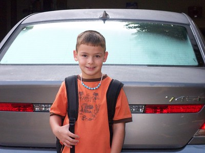Michael 2nd Grade Day 1