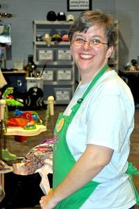 Happy Co-Chair Amy Goodman