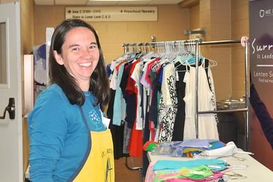 Happy Volunteer Laura Smucker