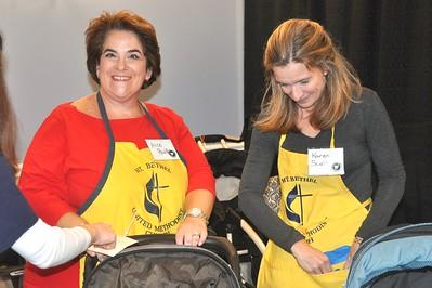 Happy Volunteers Alice Paulk and Karen Scott