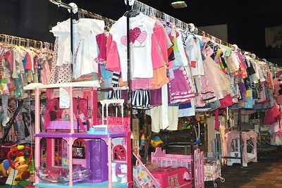 Pretty in Pink: Girls' Clothes and Toys
