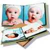 Keepsake albums and books are a parent (and grandparent) favorite!  Albums and books are a wonderful choice from any session and make a great coffee table centerpiece or gift!   Keepsake albums are printed on high quality album pages with rounded corners and finished with a leather cover in your choice of color with the option to purchase a custom cover.  All template pages are shown online with sample images so you know exactly where and how the images you choose will ultimately be presented in your album.  With the order of any keepsake album, a duplicate album or duplicate book may be ordered at a discounted price.  Book pages are printed on linen paper with square corners and also finished with a leather cover with the option to purchase a custom cover.