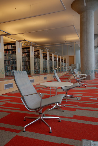 """<font size=""""2"""" face=""""Verdana"""" font color=""""#84C65D"""">A quiet sitting area on the 3rd floor of the library.</font>"""