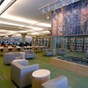 """<font size=""""2"""" face=""""Verdana"""" font color=""""#84C65D"""">Sitting area on the 2nd floor of the library.</font>"""