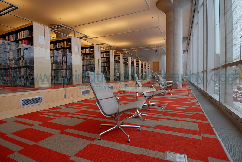 "<font size=""2"" face=""Verdana"" font color=""#84C65D"">A quiet sitting area on the 3rd floor of the library.</font>"