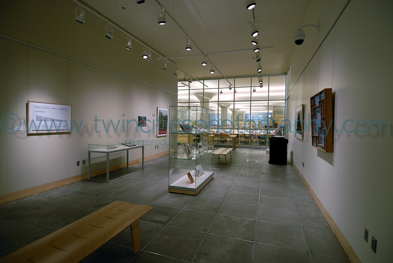 "<font size=""2"" face=""Verdana"" font color=""#84C65D"">A small art museum is located within the interior of the library.</font>"