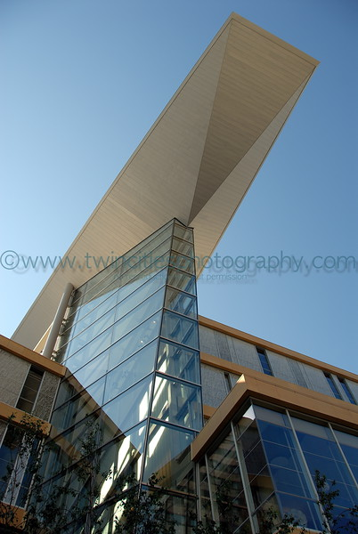 Minneapolis Central Library - Hennepin Avenue side of building.