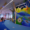 Entrance to the children's area of the library.