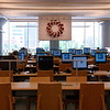 One of the many computer areas of the library.