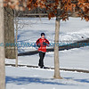 Runner near the Lake Harriet Bandshell