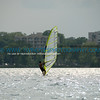 Windsurfing on Lake Calhoun.