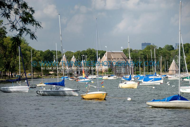 Sailboats on Lake Harriet