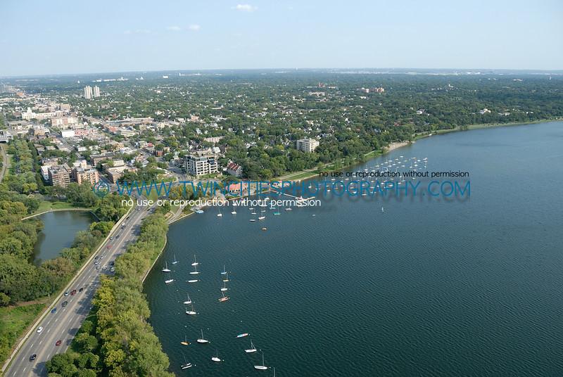 Lake Calhoun looking east.
