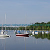 Sail boats on Lake Harriet - Summer 2006