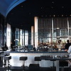 """<font size=""""2"""" face=""""Verdana"""" font color=""""#5CB3FF"""">View of the bar area in  Cue Restaurant .</font>"""