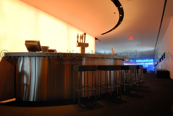 One of the bar areas of the Level 5 Cafe located on the 5th floor of the Guthrie..