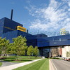 """<font size=""""2"""" face=""""Verdana"""" font color=""""#5CB3FF"""">The Guthrie Theater on July 28, 2007 viewed from the West River Road along the Mississippi River.</font>"""