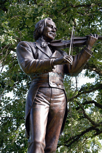 Ole Bull by Jacob Fjelde, 1896<br /> One of the first public outdoor sculptures in Minnesota, made in 1896.  The statue is in the park near the Minneapolis Technical College.  Ole Bull was a world-famous Norwegian musician, touring around the Upper Midwest giving concerts. Here he is shown with his violin. In 2000, Ole Bull was professionally cleaned.