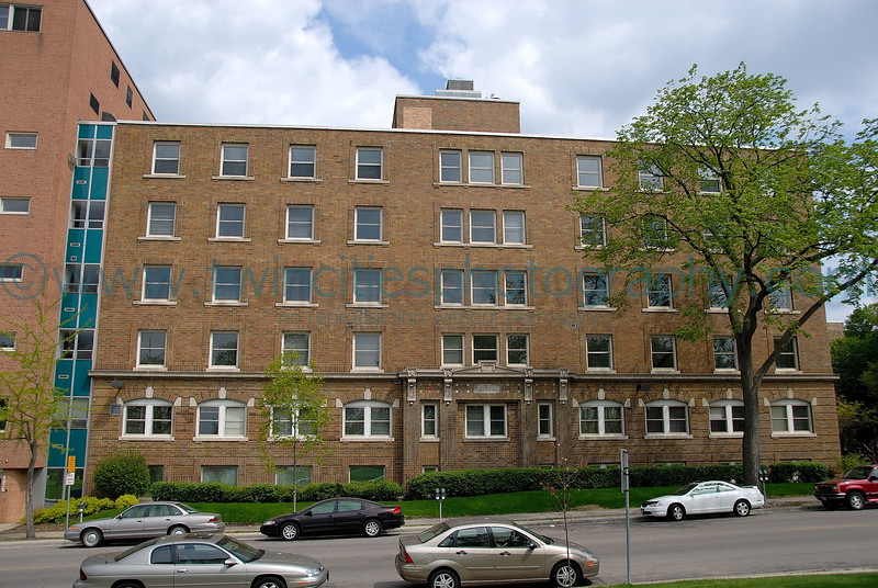Eitel Hospital Building, located on the East side of Loring Park. This site will be developed into a new condominium project to start in 2006/2007.