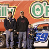 Welsh and co. in O'Reilly Victory Lane