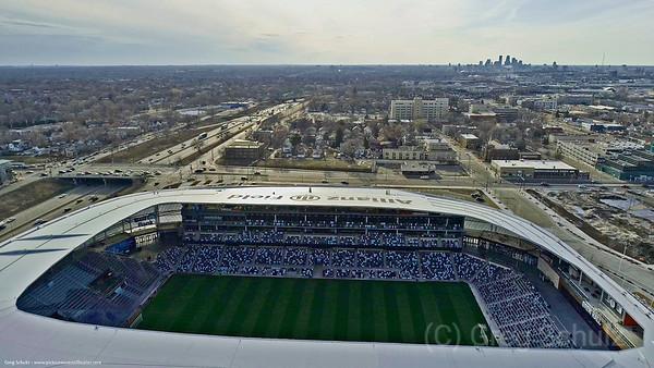 Allianz Field St. Paul Minnesota